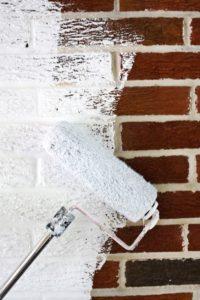 タイルの上から塗装