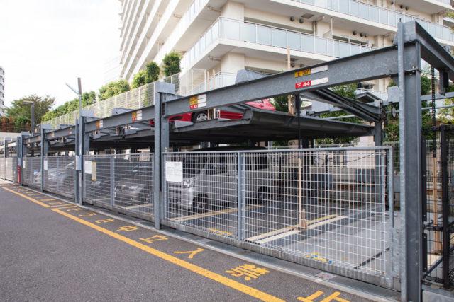マンションに多い機械式駐車場