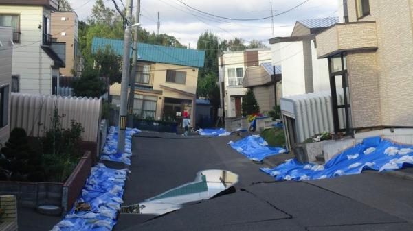 北海道胆振東部地震での実体験