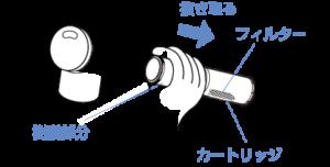 浄水器一体型シングル水栓