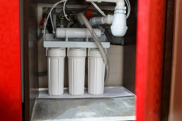 ビルトイン浄水器と蛇口一体型の違い