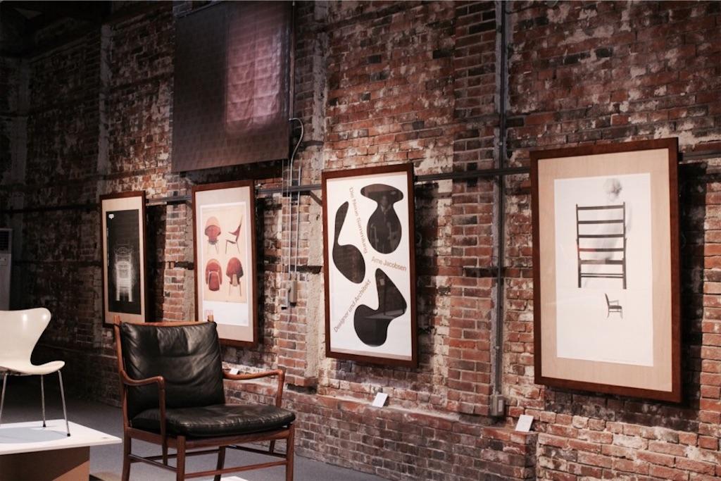チェアーズギャラリーで展示中の織田コレクション