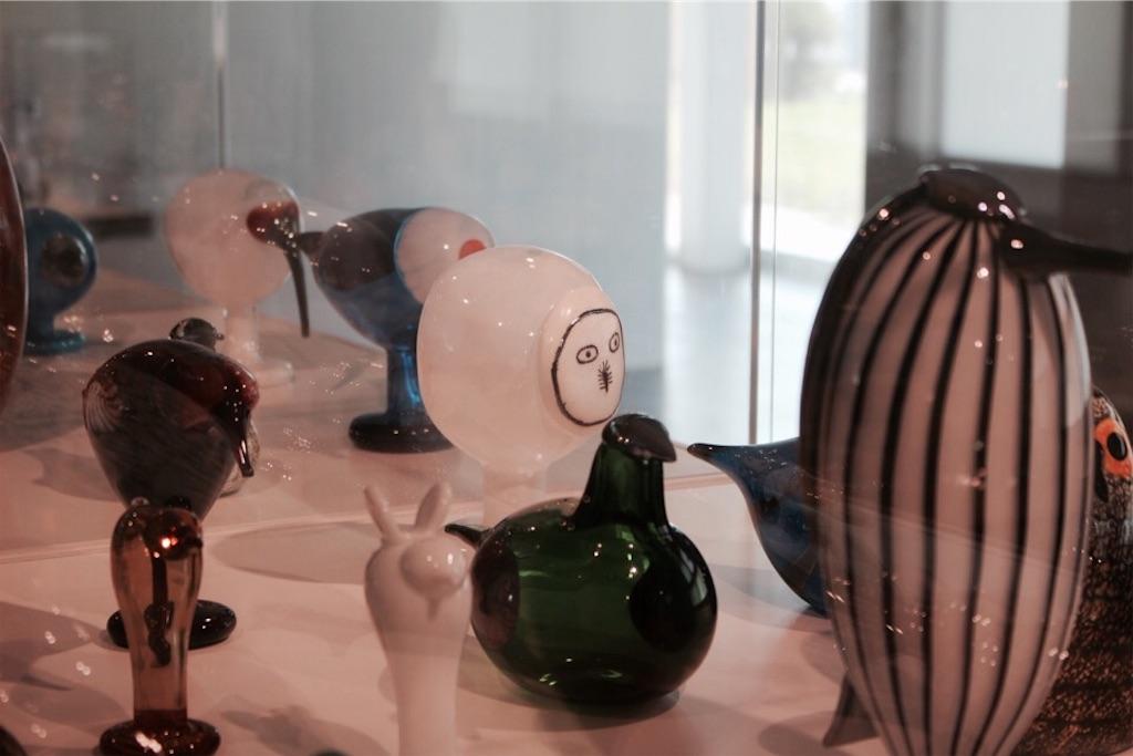 東川町文化芸術交流センターで展示中の『iittala birds(イッタラバード)』