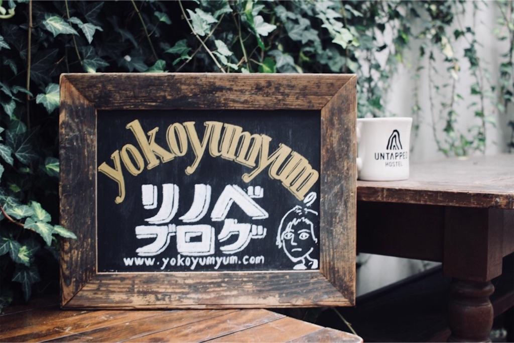CHALK BOY(チョークボーイ)&手描き結社WHW!に描いてもらったブログ看板
