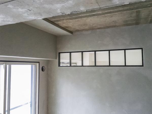 ゼオライトの塗り壁