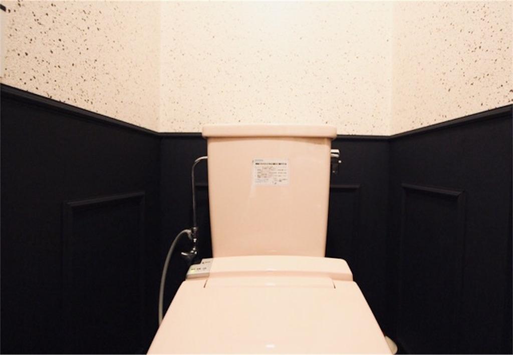 クッションシートを貼り替えたトイレの床