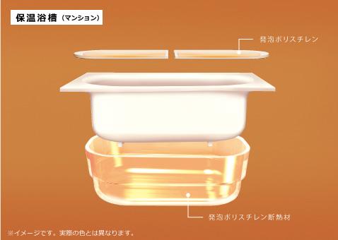 浴槽エプロンを外すと見える発泡スチロールはどうすべき?