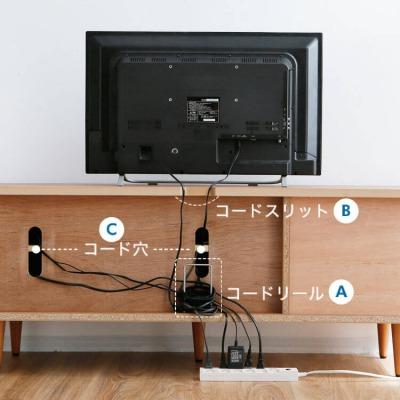 LOWYA(ロウヤ)で見つけた使えるアイテム・脚付テレビボード