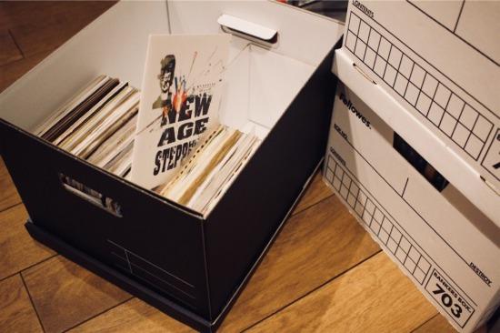 ネオスは7インチレコードの収納にぴったり