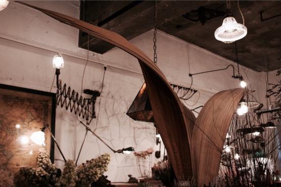 ドライフラワー専門店『ある日』で見つけた大きなパームボートのドライ