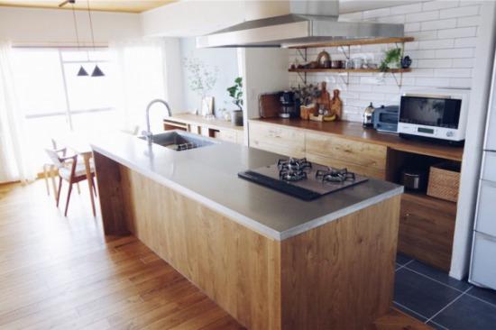 造作のオリジナルキッチン