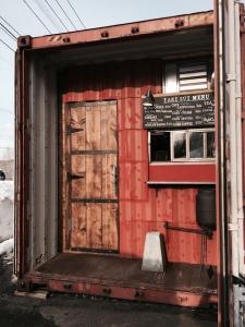 High Cube coffee(ハイキューブコーヒー)の入口