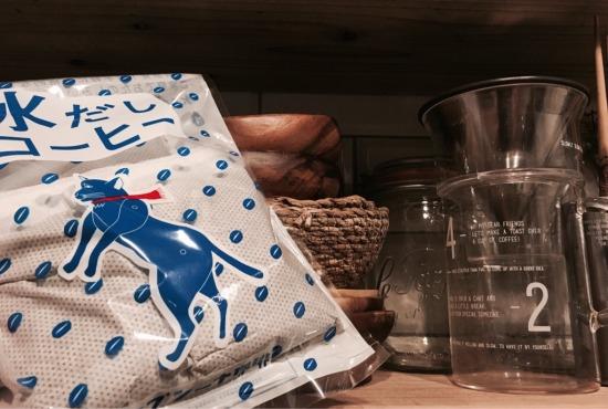 ブルーの「プシ猫」が目印のプシプシーナ珈琲