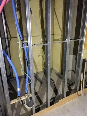 マンションリノベーション・解体後の配管や配線