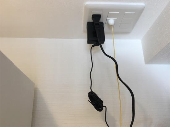 リノベーションでWICにLANパネルを設置