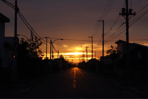 夕やけ市で撮ったお気に入りの一枚