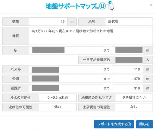 ジャパンホームシールド・地盤サポートマップ
