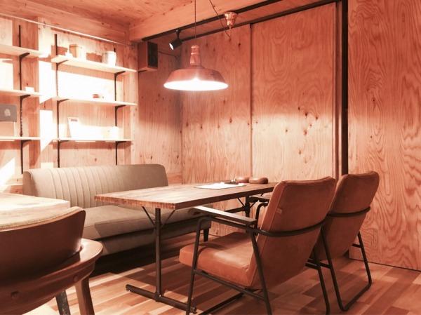 journal standard Furnitureの照明と家具