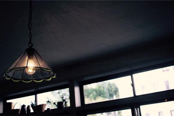 ステンドグラスで作るオリジナルのランプシェード