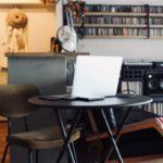 書斎が欲しい!FIAMの折りたたみテーブルを使ってワークスペースを作る
