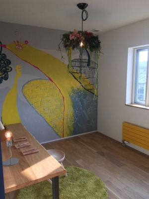 mais(マイス)さんによる壁画アート