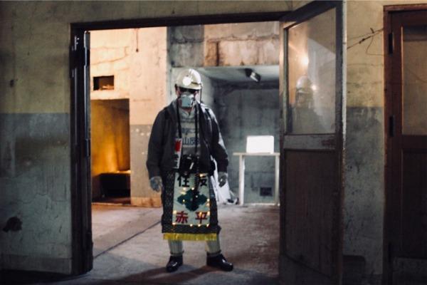 坑口浴場に佇む黒ダイヤ五郎