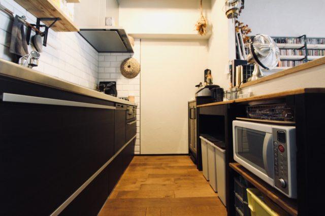 キッチンの通路幅