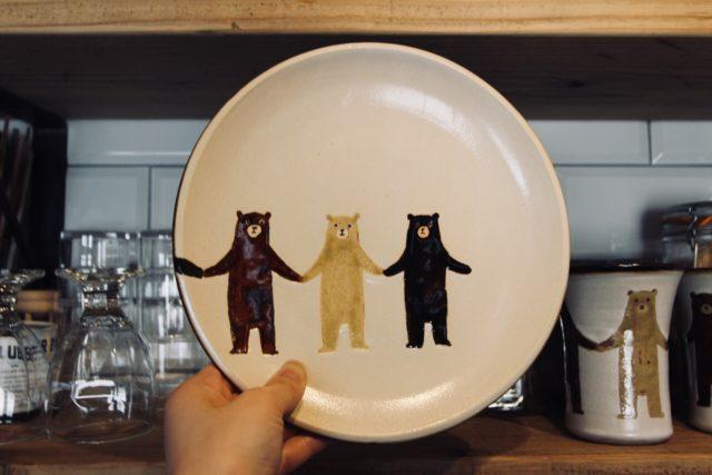 ぼくたちクマのお皿