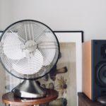 【ボルネード卓上扇風機】レトロデザインな「シルバースワン」が美しい!