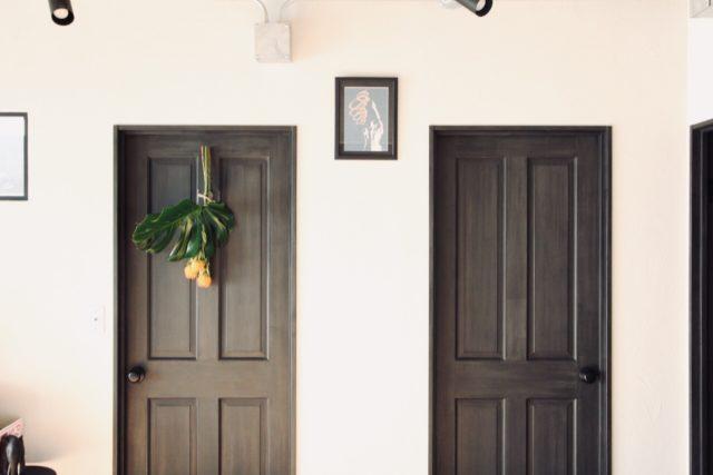 寝室と洋室のドア