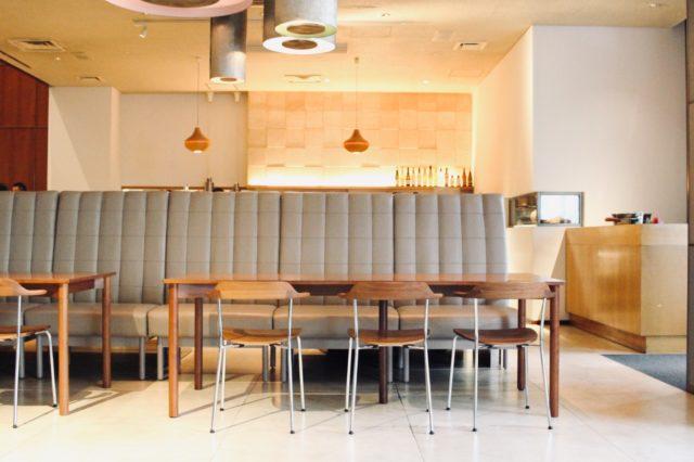 上質な空間に囲まれたレストラン「kiokuh」