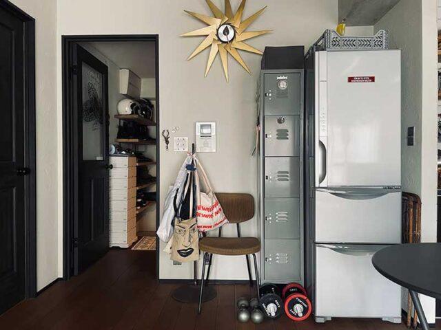 リビングに置いた冷蔵庫