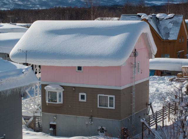 北海道といえば三角屋根やトタン屋根が主流⁈