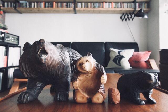 新しい熊が仲間入り