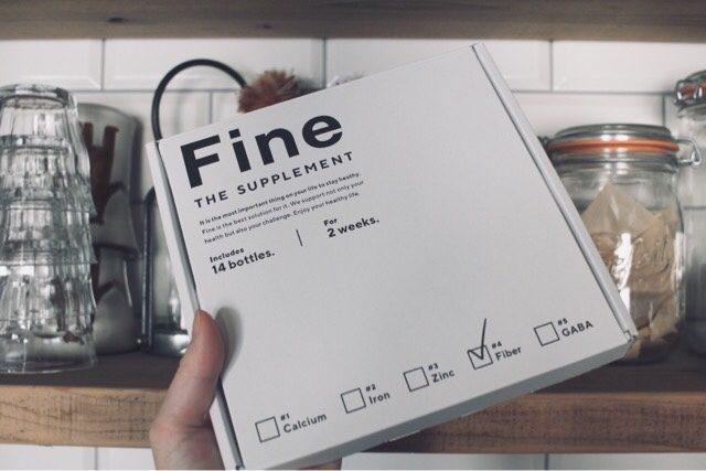 Fineの感想3. 余計な添加物がない
