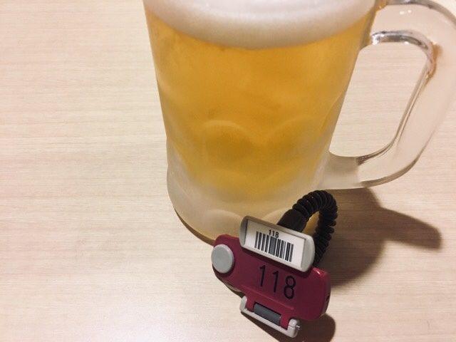 サウナのあとのビール