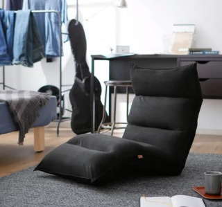 ブラックの1億円座椅子