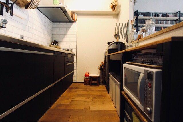 リノベーション後の我が家のキッチン