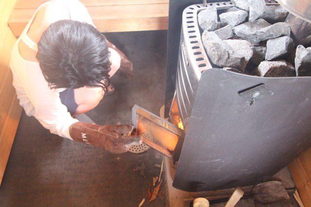 薪式サウナ