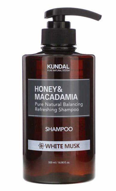 Kundal, Honey & Macadamia, Shampoo, White Musk