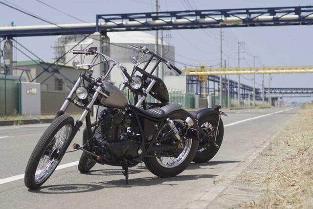 Kawasaki250TRとVULCAN800